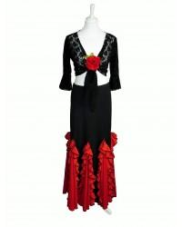 Jupe flamenco réf EF077 FLASH