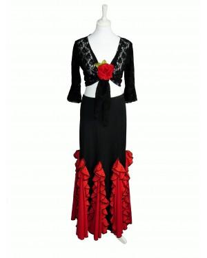 SOLDES Jupe flamenco réf EF077 FLASH