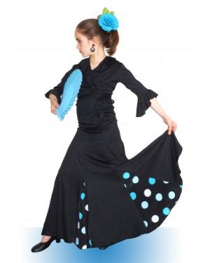 Jupe flamenco réf Agua