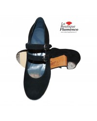 Chaussures flamenco SEMI-PRO TABLAO-D DISPO/FLASH