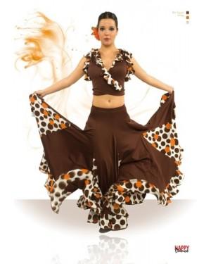 Jupe flamenco réf EF013 à personnaliser