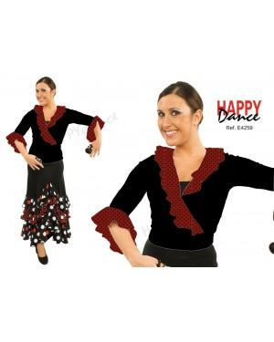 Cache-coeur flamenco réf E4259 DISPO FLASH