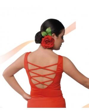 Top flamenco réf E4565 à personnaliser