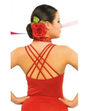 Top flamenco réf E4566 à personnaliser