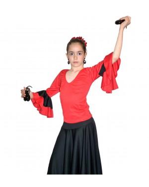 Top flamenco réf E4563/E à personnaliser
