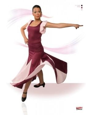 Jupe flamenco réf EF052 à personnaliser