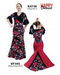 Jupe flamenco réf EF305