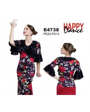 Top flamenco réf E4738