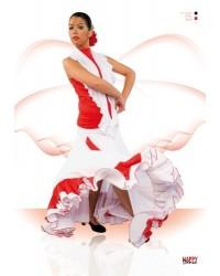 Jupe flamenco réf EF094 à personnaliser