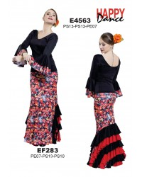 Jupe flamenco réf EF283 à personnaliser