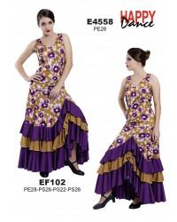 Jupe flamenco réf EF102 à personnaliser