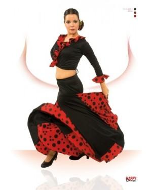 Jupe flamenco réf EF105 à personnaliser