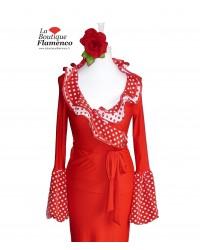 Cache-coeur flamenco Camelia réf 008