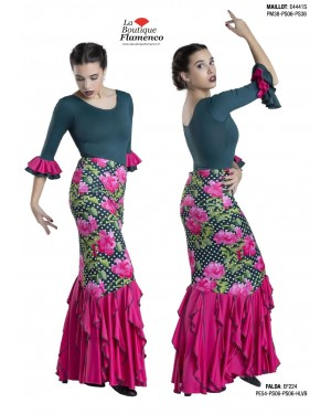 Jupe flamenco réf EF224 à personnaliser