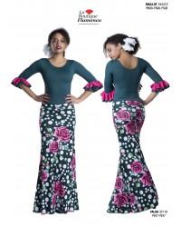 Jupe flamenco réf EF118PSI à personnaliser