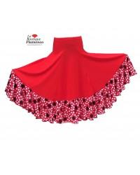 Jupe flamenco réf Maya rojo