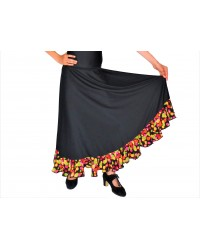 "Jupe flamenco ""Lunares multicolores"""