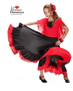 Jupe flamenco ECO réf 8FQ03-R