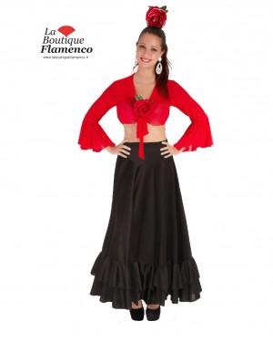Jupe flamenco ECO réf 8FQ03-N