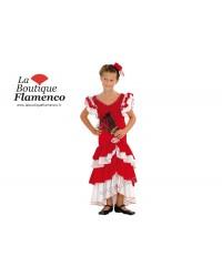 Déguisement Andalouse fillette danseuse espagnole réf D100322
