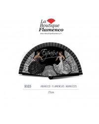 Éventail flamencas abanicos réf 9103