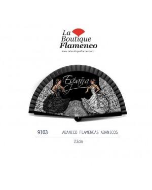 Éventail flamencas éventails réf 9103