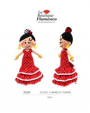 Peluche poupée flamenca réf 2131P