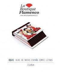 Bloc note flamenquitos réf 8641