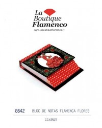 Bloc note flamenquitos réf 8642