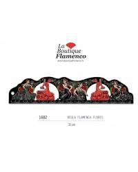 Règle flamenca flores réf 1682