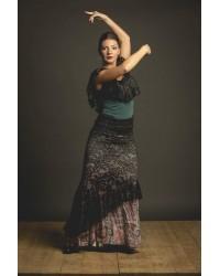 Sur-jupe flamenco Serrada réf 3918