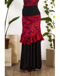 Sur-jupe flamenco Cumbres réf 3965