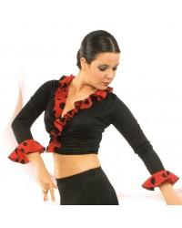 Cache-coeur flamenco réf E3672-1 à personnaliser