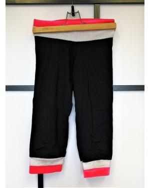 Legging/corsaire gymnastique/danse seconde main rose paillettes