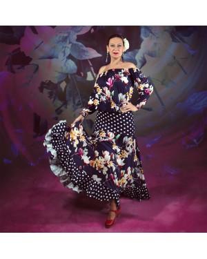 Jupe flamenco Camarina Magnolia