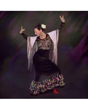 Jupe flamenco Musa Tinetto