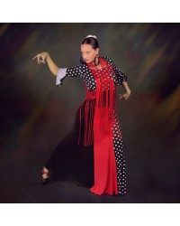 Jupe flamenco Vernal combinada