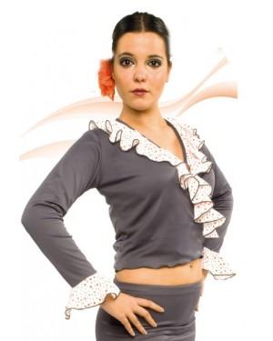 Cache-coeur flamenco réf E4568 à personnaliser