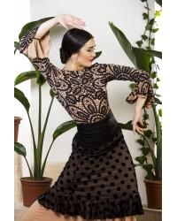 Sur-jupe flamenco Grazalema réf 3982