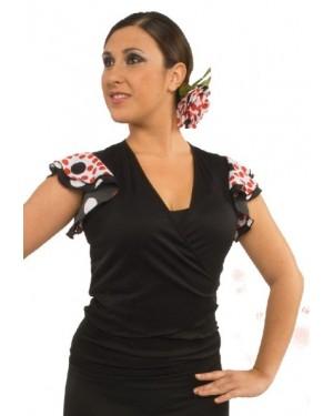 Cache-coeur flamenco réf E4567 à personnaliser