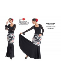 Jupe flamenco réf EF036 PFE
