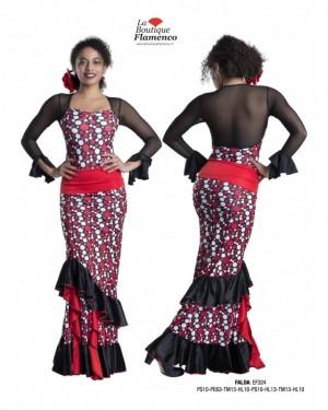 Jupe flamenco réf EF324 - DISPO FLASH
