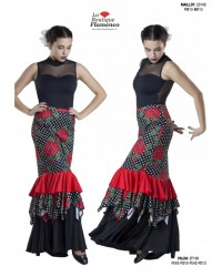 Jupe flamenco réf EF195 - DISPO FLASH