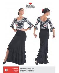 Jupe flamenco réf EF355 PFENOIR
