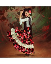 Jupe flamenco Victoria Begonia