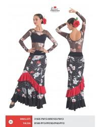 Jupe flamenco réf EF345