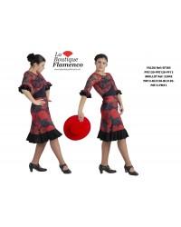 Jupe courte flamenco
