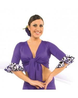 Boléro flamenco réf E4152 à personnaliser