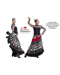 Jupe flamenco réf EF389PFE