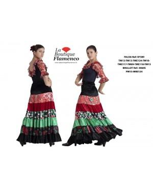 Jupe flamenco réf EF389TME